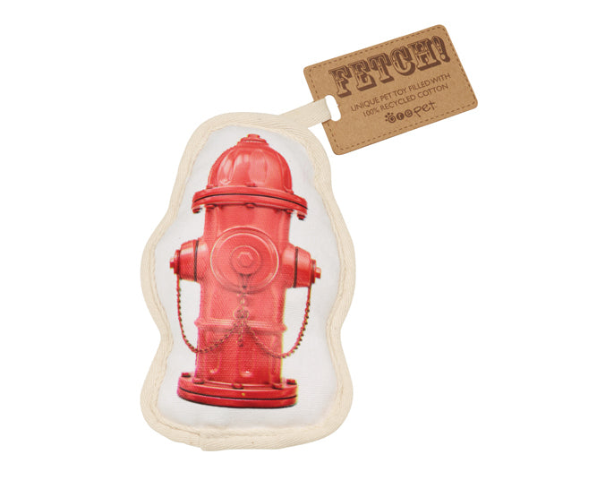 ORÉ Pets Recycled Canvas Fire Hydrant Toy