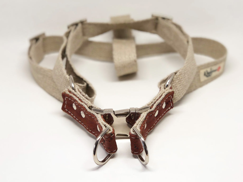 Wigglywoos Sustainable Cork Adjustable Step-in Harness