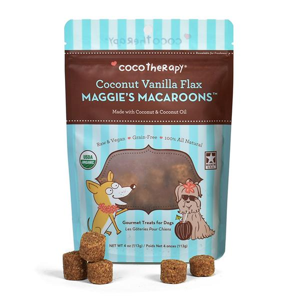 CocoTherapy Maggie's Macaroons Coconut Vanilla Flax