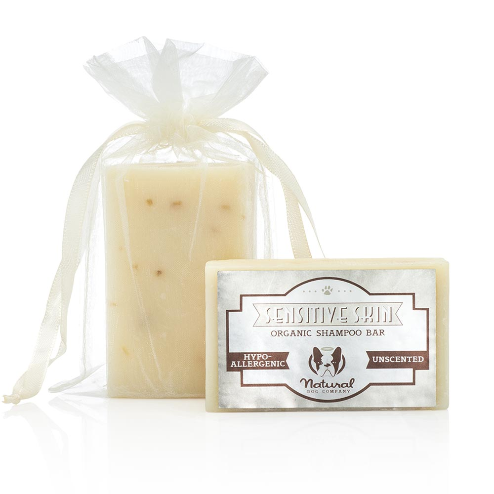 Natural Dog Company Sensitive Skin Soothing Organic Shampoo Bar