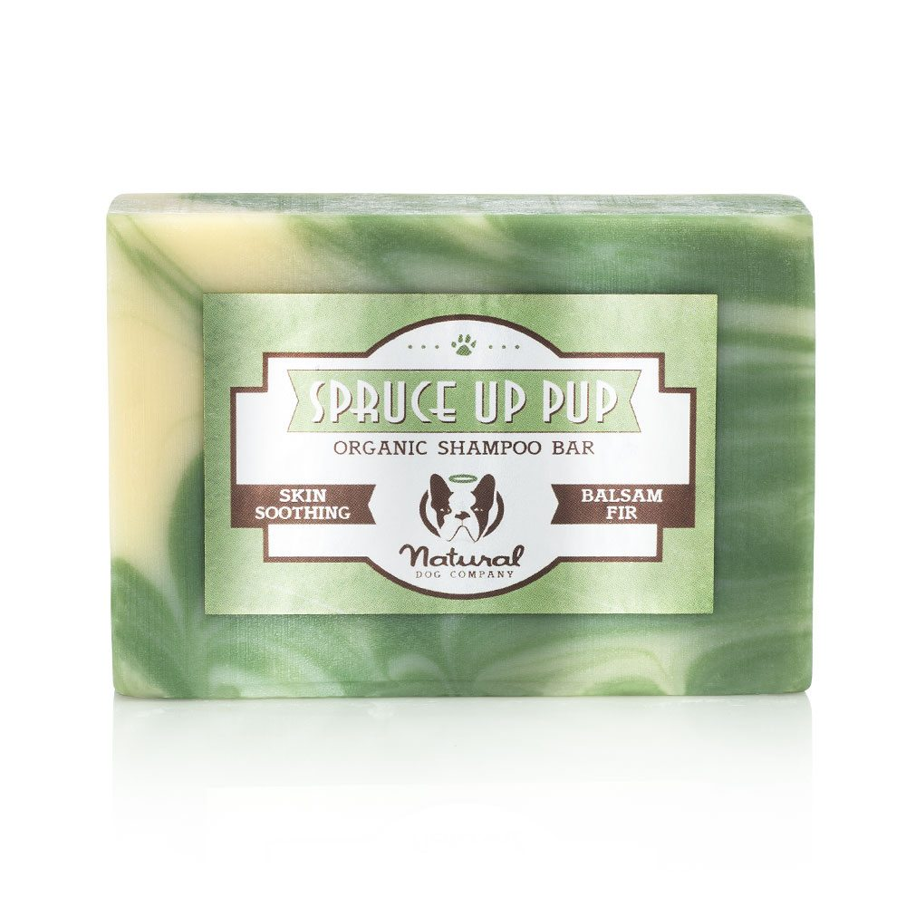 Natural Dog Company Spruce Up Organic Shampoo Bar