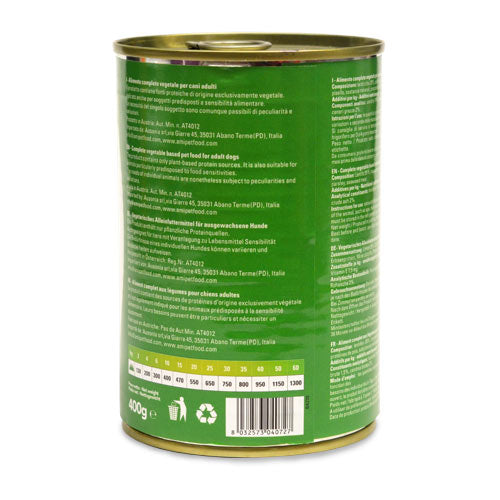 Ami V-Love Everyday Canned Wet Dog Food (Lentils & Broccoli)