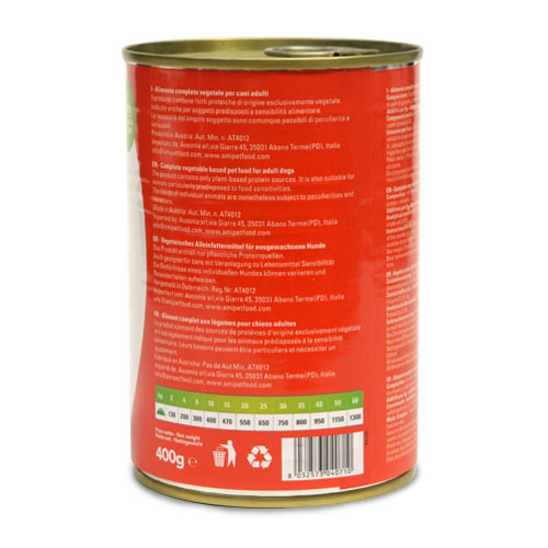 Ami V-Love Everyday Canned Wet Dog Food (Beans & Tomatoes)