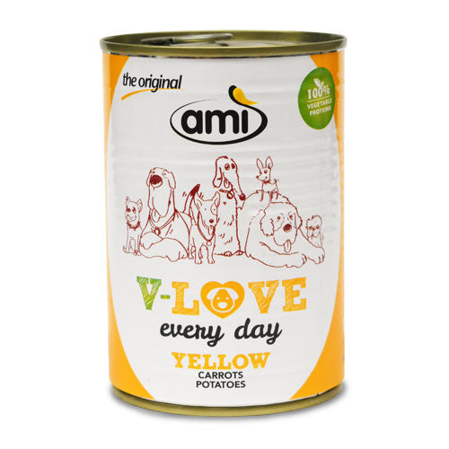 Ami V-Love Everyday Canned Wet Dog Food (Carrot & Potatoes)