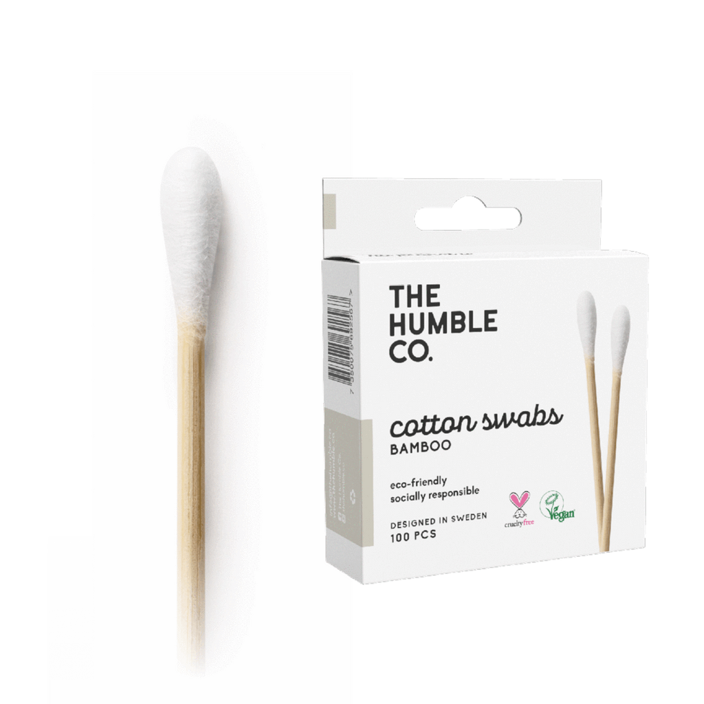 The Humble Co. Biodegradable Bamboo Cotton Swabs