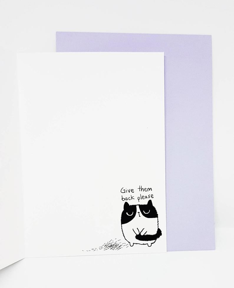 SteakandEggsPlease You're the Cat's Pyjamas Card