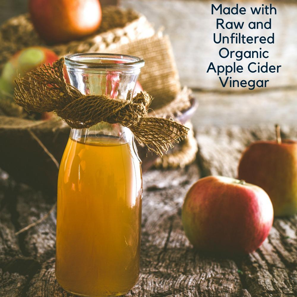 4-Legger USDA Organic Apple Cider Vinegar Conditioning Rinse