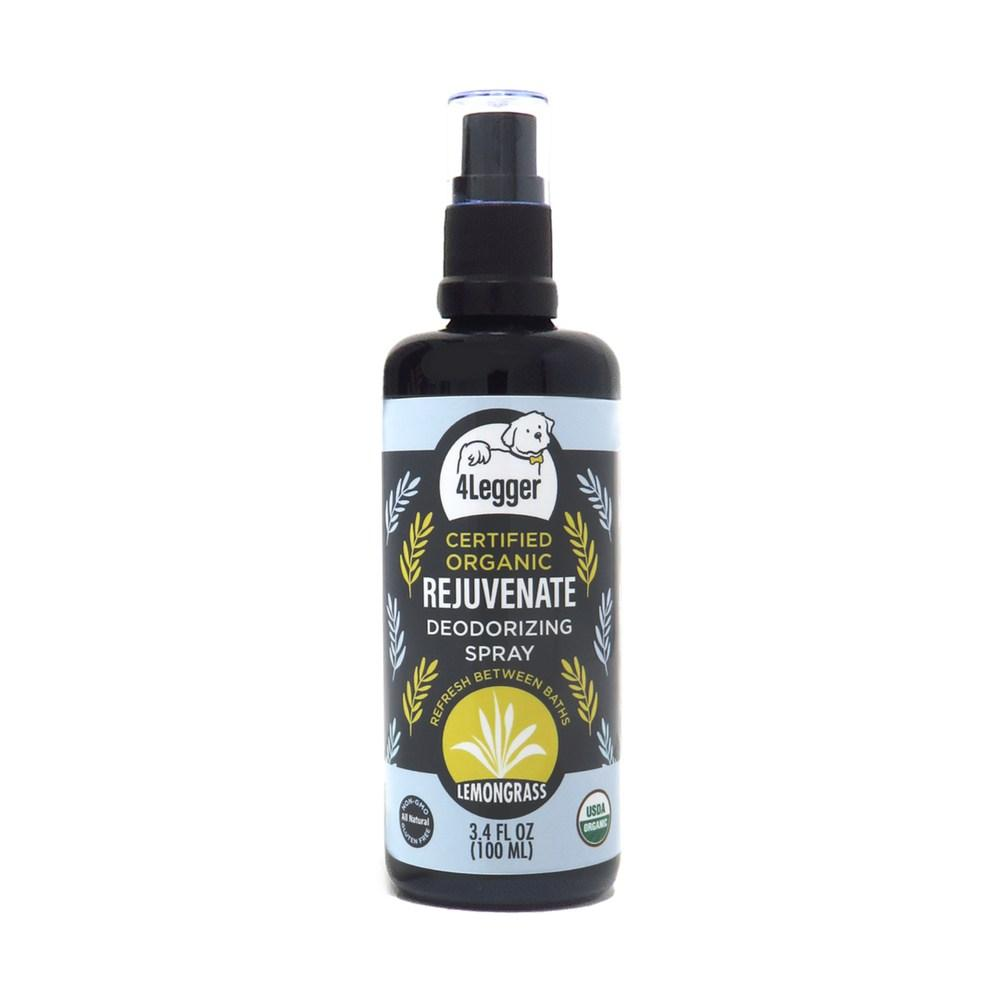 4-Legger USDA Organic Lemongrass Dog Deodorizing Spray