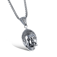 Religious Buddha Necklaces - colors silver or gold - BuddhaFeeling