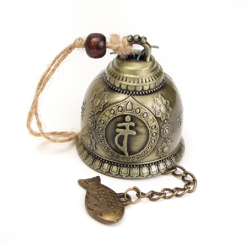 Buddha  Bell Blessing Feng Shui for Good Luck - BuddhaFeeling