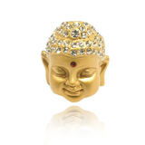 Buddha ring, 3 colors, pink gold, yellow gold, silver - BuddhaFeeling