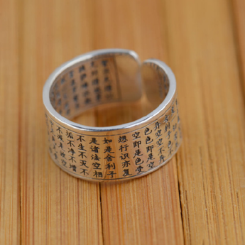 Thailand silver ring, women and men - BuddhaFeeling
