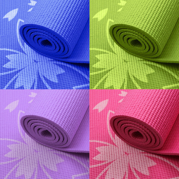 "Yoga mat ""Cherry blossoms""  173 * 61 * 6 mm"