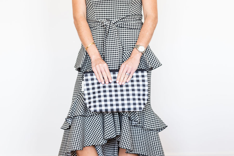 PIPER POUCH - GINGHAM