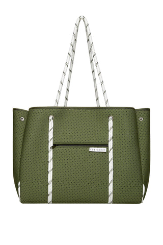 THE LEADER – KHAKI CROC-Bag-CUB+SCOUT