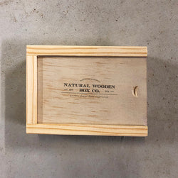 ELOPEMENT MEDIA BOX - Natural Wooden Box Co.