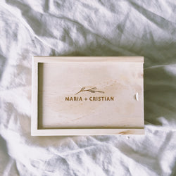 SMALL PRINT BOX - Natural Wooden Box Co.