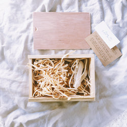 USB BOX - RUSTIC - Natural Wooden Box Co.