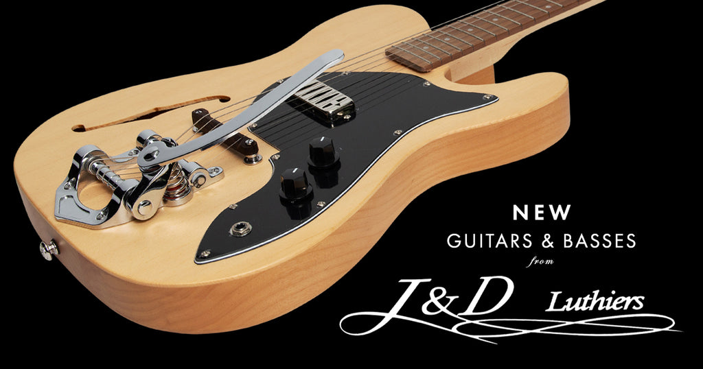NEW Electric Guitars and Basses from J&D Luthiers!