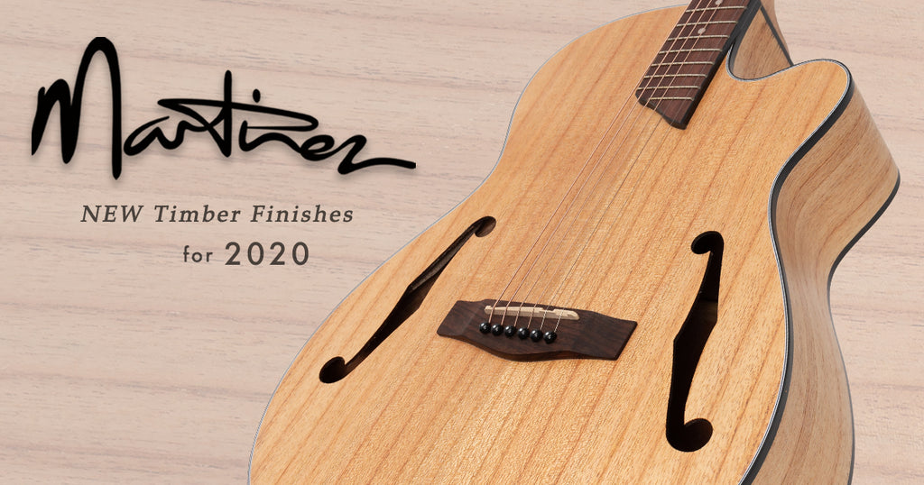 Just Arrived: New Martinez Acoustic Models!