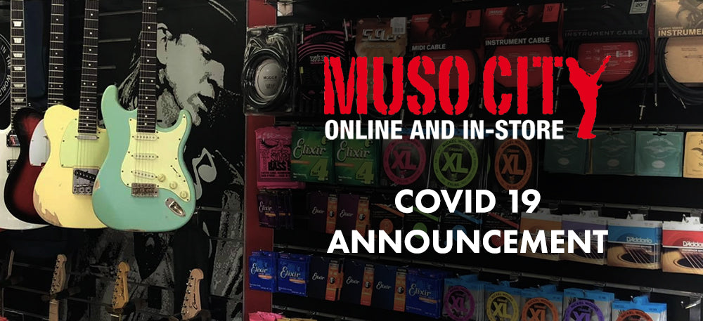 COVID 19 Announcement: We're Back In-Store!