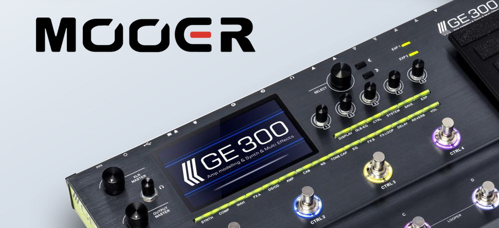 Mooer GE300 Multi-Effect