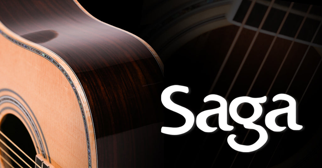 Saga Guitars: Handcrafted Solid Top Acoustics Now Available!