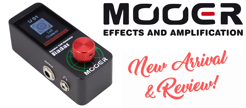 New Product Arrival & Review - Mooer 'Radar' Speaker Cabinet Simulator - RRP $259