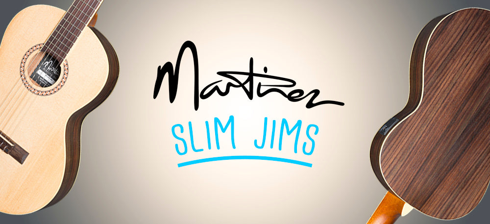 "Martinez ""Slim Jim"" Classical Guitars"