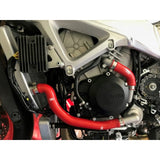 Aprilia RSV4 / RF / RR 2009-2018 5 Piece Samco Sport Thermostat Bypass Silicone Radiator Coolant Hose Kit