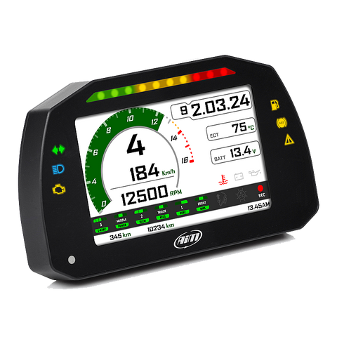 KAWASAKI ZX-10R 2016 - 2019 AIM MXK10 - GEN 5 P&P Road Legal Dash With FREE GPS Sensor