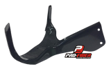 HONDA CBR1000RR 2004-2007 PRO-FIBER Carbon Race Fairing Bracket with Clock Support