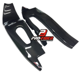 HONDA CBR1000RR 2004-2007 PRO-FIBER Carbon Fiber Swingarm Covers (PAIR)