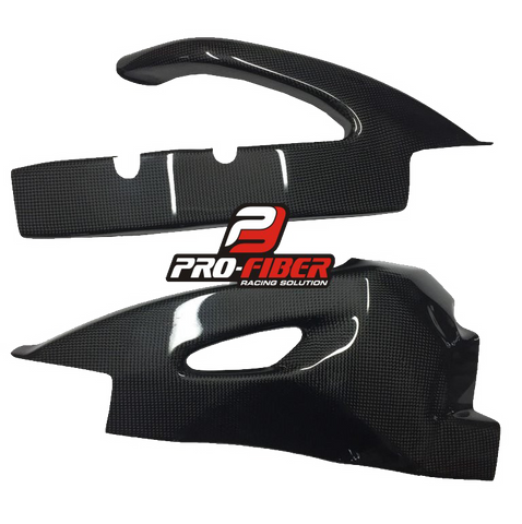 SUZUKI GSX-R 600 2006-2007 PRO-FIBER Carbon Fiber Swingarm Covers (PAIR)