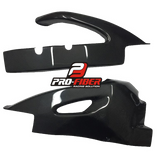 SUZUKI GSX-R 750 2008-2010 PRO-FIBER Carbon Fiber Swingarm Covers (PAIR)
