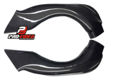 SUZUKI GSX-R 600 2008-2010  PRO-FIBER Carbon Race Air Intakes (PAIR)