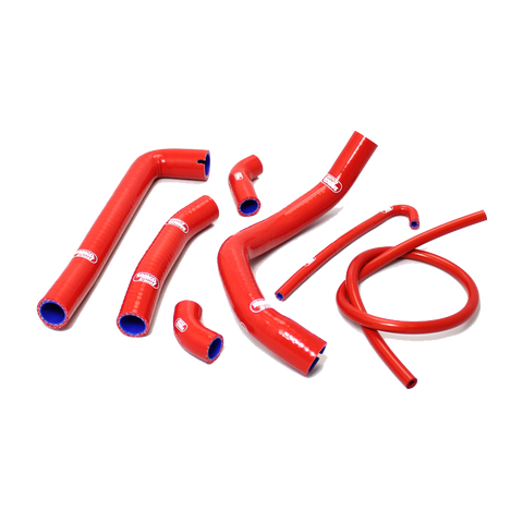 Ducati Panigale 1199 S / R 2012 - 2014 7 Piece Samco Sport Silicone Radiator Coolant Hose Kit