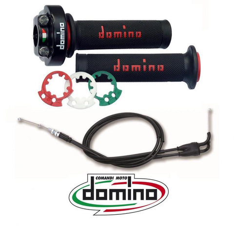 Ducati 848 Quick Action throttle DOMINO XM2 full kit