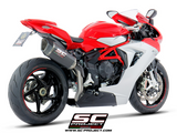 MV AGUSTA F3 800 2013 - 2016 SC-Project SC1-R Muffler, high position, Carbon fiber