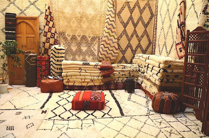 Moroccan rugs, vintage heritage that match your soul