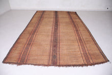 Tuareg North African Reed Mat (7.5 ft x 11.4 ft)