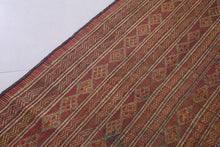Traditional Tuareg reed mat, 6.7 FT X 9.1 FT