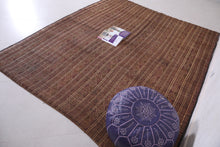 Tuareg Reed Rug (7ft x 8.4ft)