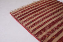 Hassira Straw Mat With Wool and Leather (6ft x 8.6ft)
