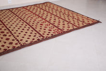 Vintage Straw Mat (6 ft x 9.6 ft)