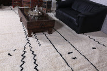 Custom Beni ourain rug, Wool berber carpet
