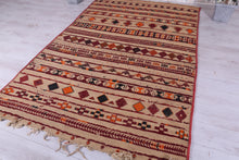 Berber Straw and Wool Mat (5.8 ft x 8.3 ft)