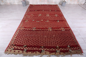 Antique Mat by Africa 6.7ft x 9.3ft, Tuareg mat,