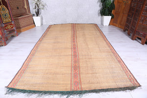 "Reserved- Small Tuareg mat, 4'3"" x 5'5"""