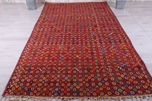 Tuareg old mat with Nomad design 9.7ft x 13.3ft